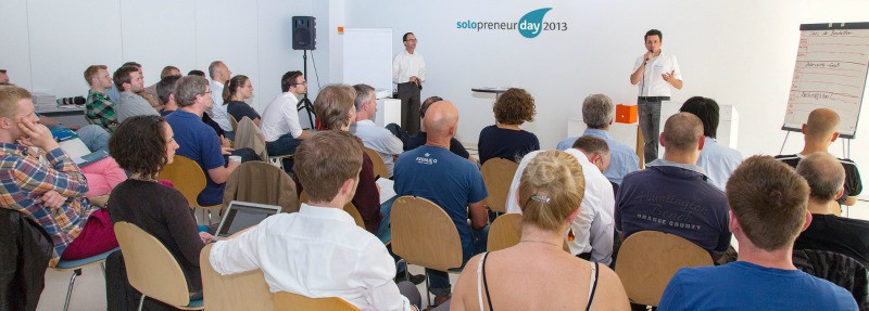 Plenum beim Solopreneurday